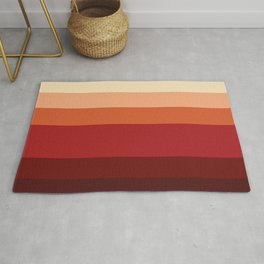 Martian Color Stripes Rug