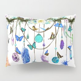 Folkestone Feather, Crystal And Butterfly Spirit Gazer Pillow Sham