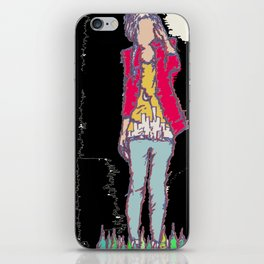 A Girl iPhone Skin
