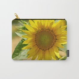 Cheerful sunflower Carry-All Pouch