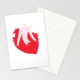 ponme la mano aquí Stationery Cards