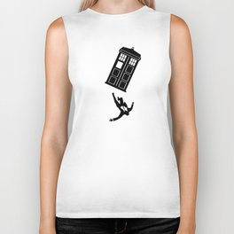 Doctor Who - Mad Men Biker Tank