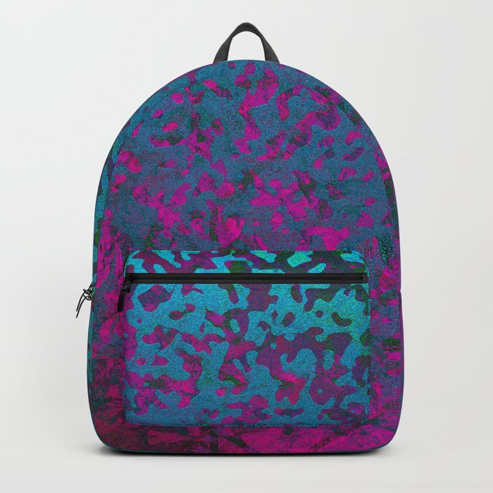 Colorful Corroded Background G296 Backpack