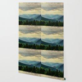 Mountain Landscape Panorama Wallpaper