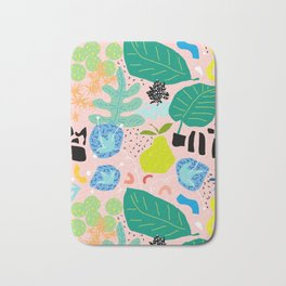 Abstract Orchard Bath Mat