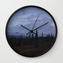 Denali Moon Rise Wall Clock
