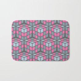 cascade - pink Bath Mat