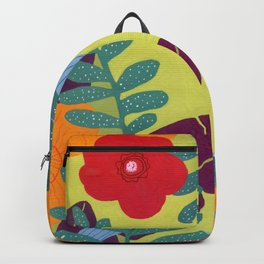 colorful garden Backpack
