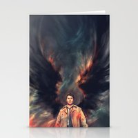actor Stationery Cards featuring The Angel of the Lord by Alice X. Zhang