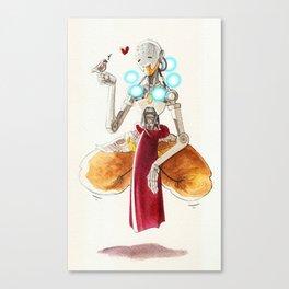 Zenyatta plus a sparrow Canvas Print