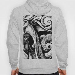 Swirl (black and white) Hoody