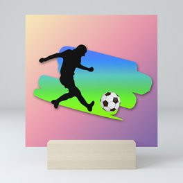 The Football game Mini Art Print
