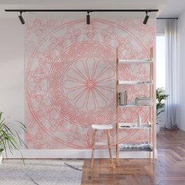Mandala rose Wall Mural