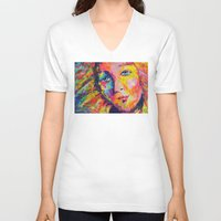 venus V-neck T-shirts featuring Venus by Ilya Konyukhov