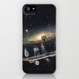 Galaxy board iPhone Case