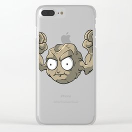 Geozorp T-Shirt Clear iPhone Case