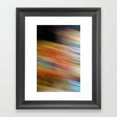 Colors of a Ferris Wheel Framed Art Print