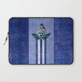 poloplayer blue Laptop Sleeve