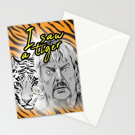 Tiger King Stationery Cards