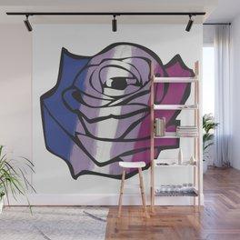 Bigender Rose Wall Mural