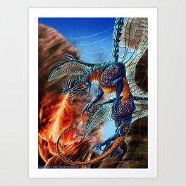 Darachnid  Art Print