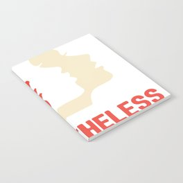 Nevertheless, she persisted (Womens March) Notebook