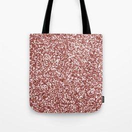 Pixel Hash / Digital Mince / Cubistic Hamburger Meat Tote Bag