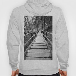 wooden staircase Hoody