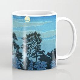 Night at Hommonji Temple Coffee Mug