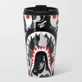 camo black Travel Mug