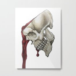 Mindless Metal Print