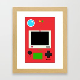Pokedex Framed Art Print