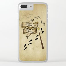 Mischief Managed Clear iPhone Case