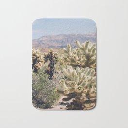 Joshua Tree Cactus Garden Bath Mat