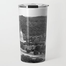 Landscape of Charleston, WV Travel Mug
