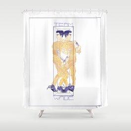 Rudy Wade Shower Curtain
