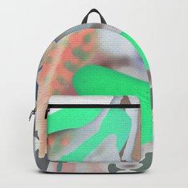 neon girl Backpack