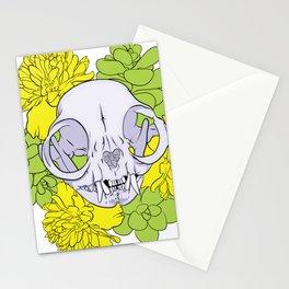 Persian Kitty Skull Stationery Cards