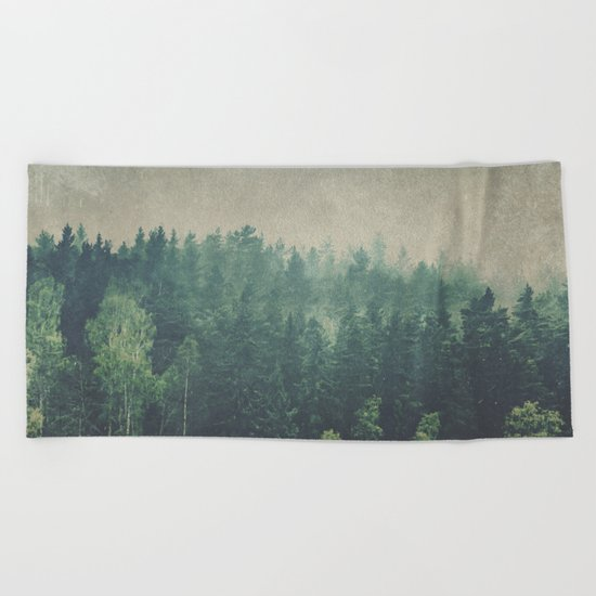 Dark Square Vol. 2 Beach Towel