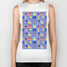 Geometry- pattern no1 Biker Tank