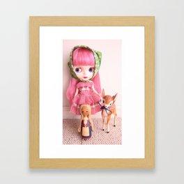 Barvarian Cutie Framed Art Print
