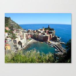 Vernazza Trails Canvas Print