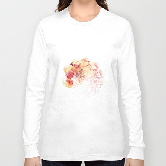 fine Coloured  (A7 B0195) Long Sleeve T-shirt