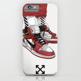 Off White Jordan 1 Poster iPhone Case