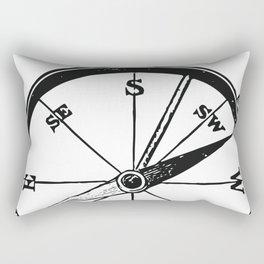 Ancient Compass Rectangular Pillow