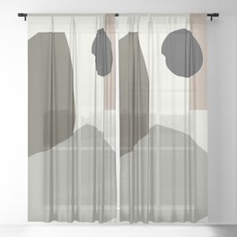 Shape study #35 - Lola Collection 2019 Sheer Curtain