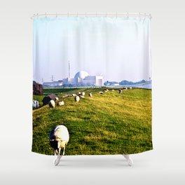 In the fresh Air Shower Curtain