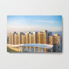 Taipei City Housing Metal Print