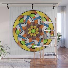 Mandala Horn Wall Mural