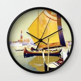 Venetian Cruise Wall Clock